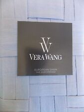 New Vera Wang Scrolls Euro Pillow Sham