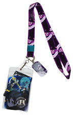 Sword Art Online II Kirito Lanyard ID Badge Holder Metal Dog Tag Charm Official