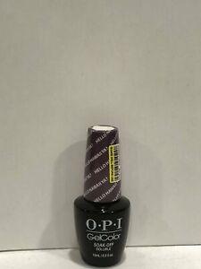 OPI Gel Color Discontinued Hello Hawaii Ya? H73