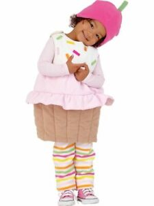 NWT Old Navy Cupcake Halloween Costume 3-Piece Baby Size 12-24 Months