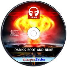 NEW & Fast Ship! Darik's Boot & Nuke Hard Drive Eraser / Remover / Delete - Disc