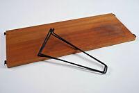 60er Bücherregal Vintage String Regal Nussbaum Wandregal Danish Regalsystem 1