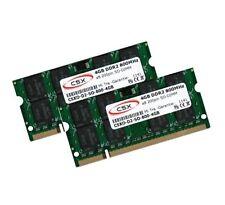 2x 4gb 8gb ddr2 800 MHz Sony VAIO serie Sr-vgn-sr41m/w de memoria RAM SO-DIMM