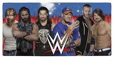 WWE ' Raw Vs Smackdown Multi Colour Printed Swimming Summer Beach Bath Towel