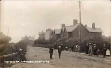 Cleveleys near Blackpool. Victoria Road Approach by Sykes, Cleveleys.