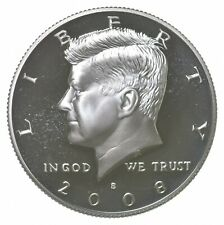 2008-S Gem Deep Cameo Proof Kennedy Half Dollar 90% Silver *189
