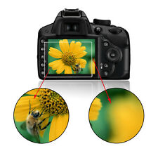 1 X 9H Tempered Glass Film Camera LCD Screen Protector for Nikon D3400