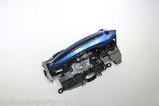 2013 F10 BMW M5 OEM BLUE FRONT LEFT DRIVER SIDE EXTERIOR DOOR HANDLE W/ LED #615