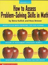 How to Assess Problem-Solving Skills in Math (Grades K-2)-ExLibrary