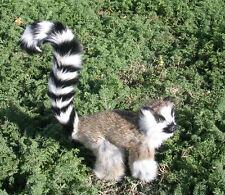 Realistic Lifelike Lemur Rabbit/Goat Fur Furry Animal