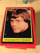 1983 Topps Star Wars Return Of The Jedi Sticker #20 Luke Skywalker /> Mark Hamill