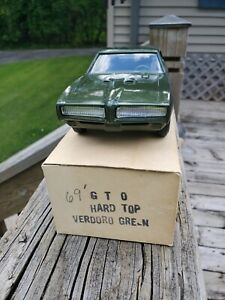 1969 GTO Verdoro  Green With Original Box Dealer Promo