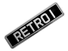 Número de matrícula del coche Soporte De Acero Inoxidable E-Tech + GRATIS Cinta de Montaje E-Tech