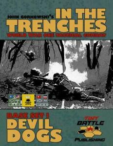 Tiny Battle Wargame In the Trenches - Devil Dogs New
