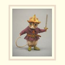 R John Wright Collectible Dolls - Tom Thumb Fairy Tale Mouse