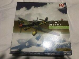 "Hobby Master Junkers JU87-D3 RAF 601 Sqn Sidi Haneish Libya ""Captured"" HA0135"