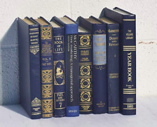 Decorative Books for Designers - Blue with Gold Embossing