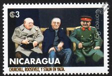 WWII 1945 Yalta Conference - CHURCHILL, STALIN & ROOSEVELT Stamp