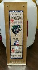 1995 houston aeros season ticket holder ticket #2127/2500.