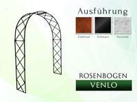 Rosenbogen Venlo 1,40m Pergola Gartenbogen Rosensäule Metall Rösenbogen