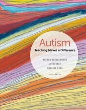 Autism: Teaching Makes a Difference by Brenda Scheuermann: New