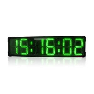 Large LED Digital Stopwatch Timer clock Race Countdown Electronic Marathon Watch