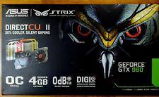 Asus Strix Geforce GTX 980 4GB Graphics Card