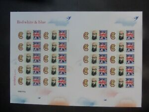 GB Red white blue Cricket W G Grace Bletchley Park Post Office smiler 30 of 200