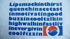 New,Lipsmackin Pepsi / Punk T-Shirt Size XXL.Retro 70's Pop,Rock n Roll,Punk