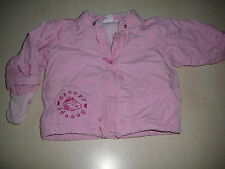 H & M Snoopy tolle warme Jacke Gr. 80 rosa !!