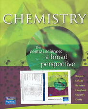 Chemistry, the Central Science: A Broad Perspective by Lemay 2007