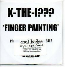 (520B) K-The-I???, Finger Painting - DJ CD