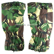 British Army MK 2 Camo DPM Gortex Gaiters, NEW