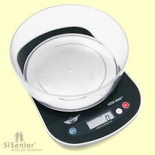 Sprechende Küchenwaage VOX 3000 Waage mit deutlicher Sprachausgabe