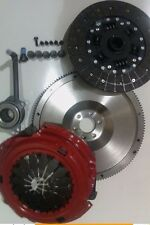VW SCIROCCO 2.0TDI 2.0 TDI FLYWHEEL AND CARBON KEVLAR CLUTCH WITH CSC, BOLTS