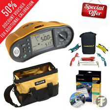 Fluke 1663 Multifunction Tester KITQ, Earth Spike Kit, Tool Case & DMS Software