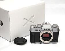 Fuji X Fujifilm X-T20 24.3 MP SILVER (body only) - JUST 4,714 SHOTS