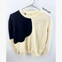 Celine Authentic Colorblock Sweater EUC Size Small
