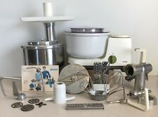Bosch Universal Kitchen Machine Um3 Magic Mixer, 2 Bowls, Grinder +Attachments