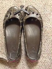 Crocs Women's Kadee Realtree Max-5 Flat Shoe NEW NWT Camo size 8