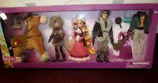 Disney Parks Tangled the Series Doll Deluxe Set Rapunzel Cassandra Flynn Maximus