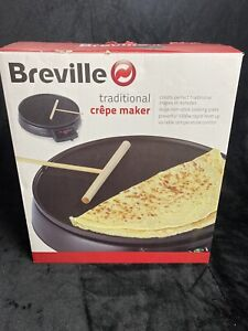 "Breville Traditional Crepe Maker - 12"" cooking surface - VTP130"