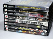 8 PLAYSTATION PS2 game lot SIMS Guitar Hero MAXIMO Castlevania