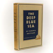 Terence Rattigan 'The Deep Blue Sea'. Random House, New York, 1952. 1st Ed w DJ