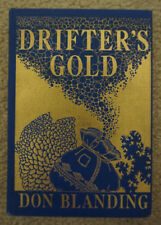 1939 Drifter's Gold Don Blanding - 1st Edition & Signed - Hardcover