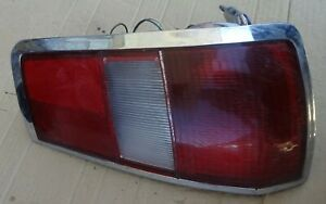 AMC PACER STATION WAGON MODEL 1977 80 REAR TAIL LIGHT RIGHT SIDE.3689516 USED