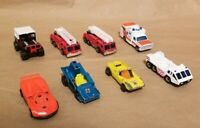 Lot of 8 Vtg 1970-80's Lesney Diecast Matchbox Toy Car Racecar Firetruck Jeep