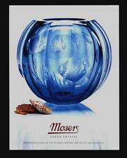 PRINT AD 2006 MOSER CZECH HANDCRAFTED LUXURY CRYSTAL