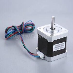 1.8deg 2.4A 48mm 2 Phase Nema 17 Stepper Motor For Engraving Printer Machines