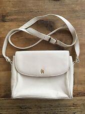 Vintage Cream Etienne Aigner leather handbag purse